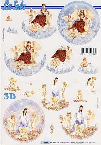 3D Bogen Engel II