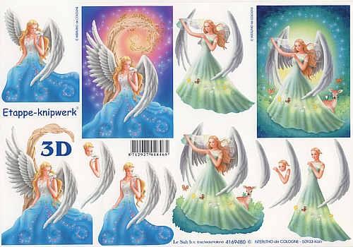 3D Bogen Engel IV