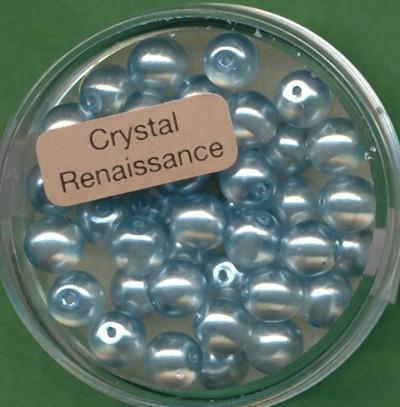 Crystal Renaissance 6mm hellblau