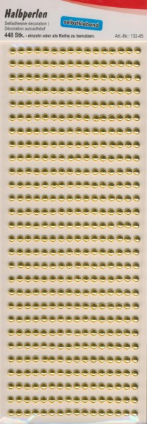 13245_Halbperlen-selbstklebend-5mm-gold-448-Stück