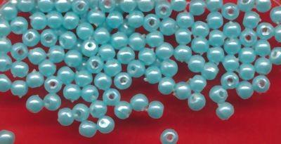 10310 Wachsperlen 3mm türkis 125 Stück