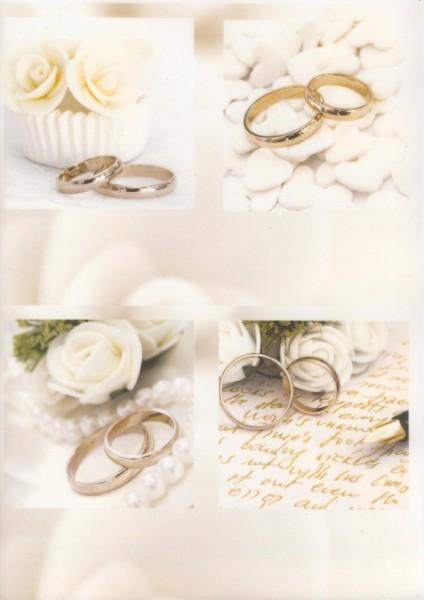 Transparentpapier Hochzeit 1