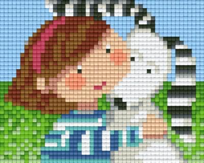 801379_Pixelset-Mädchen-mit-Hund